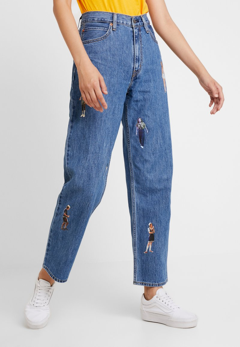 Levi's® - LEVI'S® X STRANGER THINGS DAD JEAN - Jeans Relaxed Fit - stranger things joe stoned