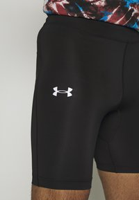 Under Armour - FLY FAST HALF - Tights - black/black