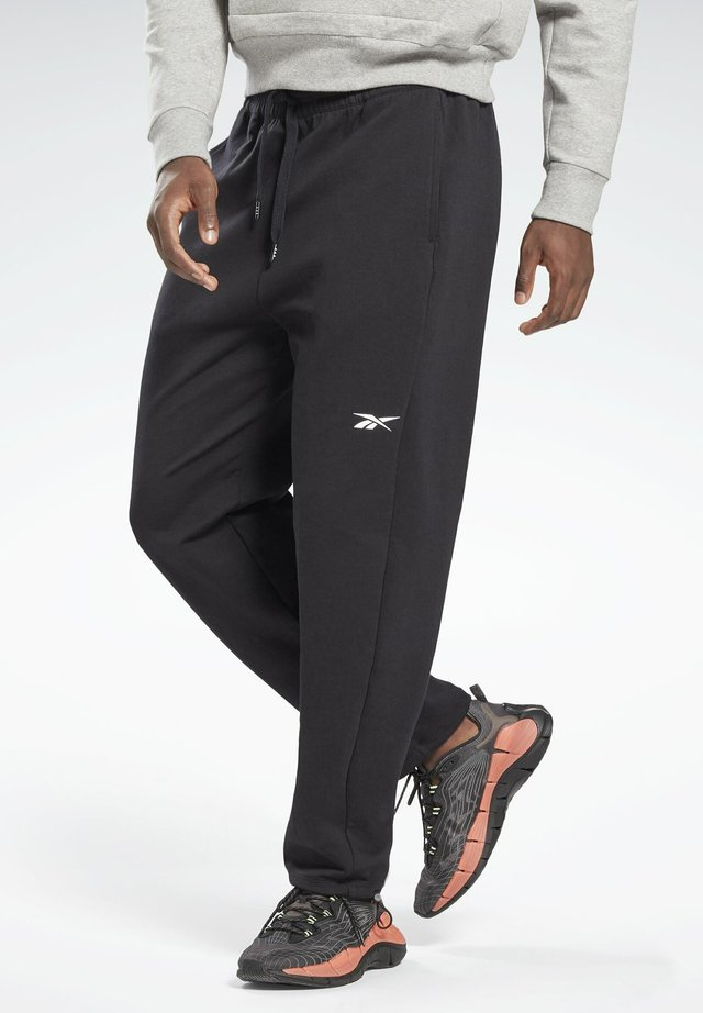 DREAMBLEND COTTON TRACK JOGGERS - Pantalon de survêtement - black