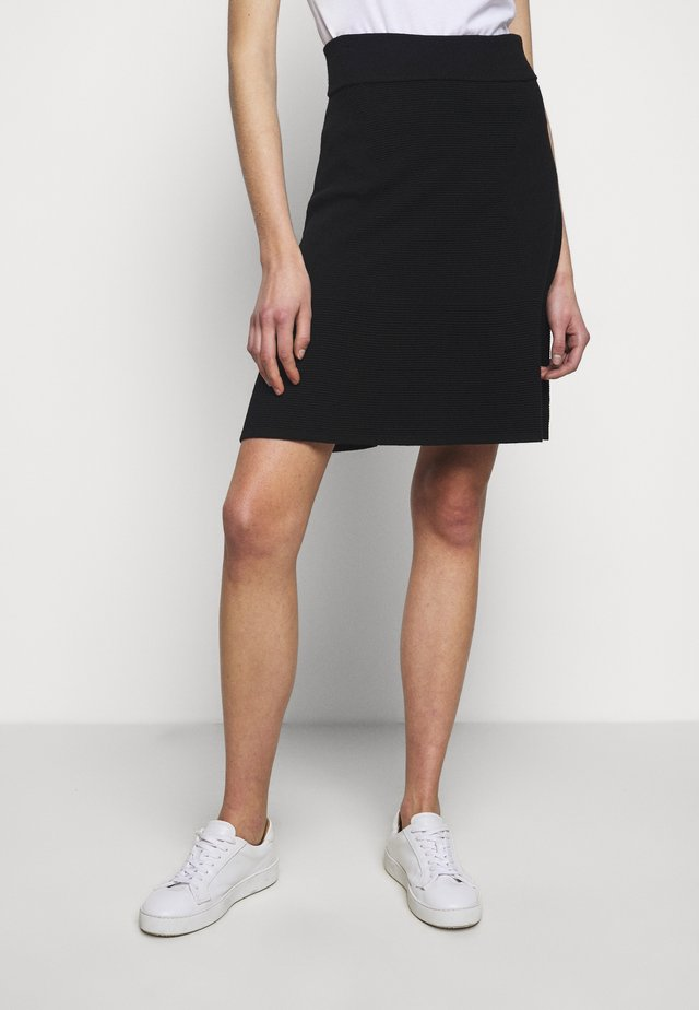 SEBREENA - A-line skirt - black