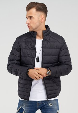 MIT STEHKRAGEN - Light jacket - black