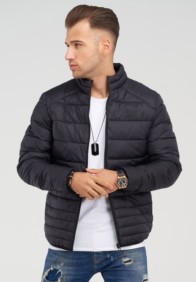 MIT STEHKRAGEN - Light jacket - black