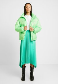 NORR - OLIVIA SKIRT - A-line skirt - strong mint - 1