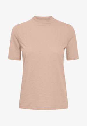 IHRANIA - Basic T-shirt - silver pink
