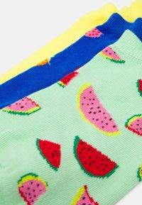 Happy Socks - FRUIT NO SHOW SOCK UNISEX 3 PACK - Socks - multi - 1