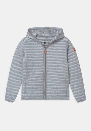 IRIS HOODED UNISEX - Winter jacket - chrystal grey