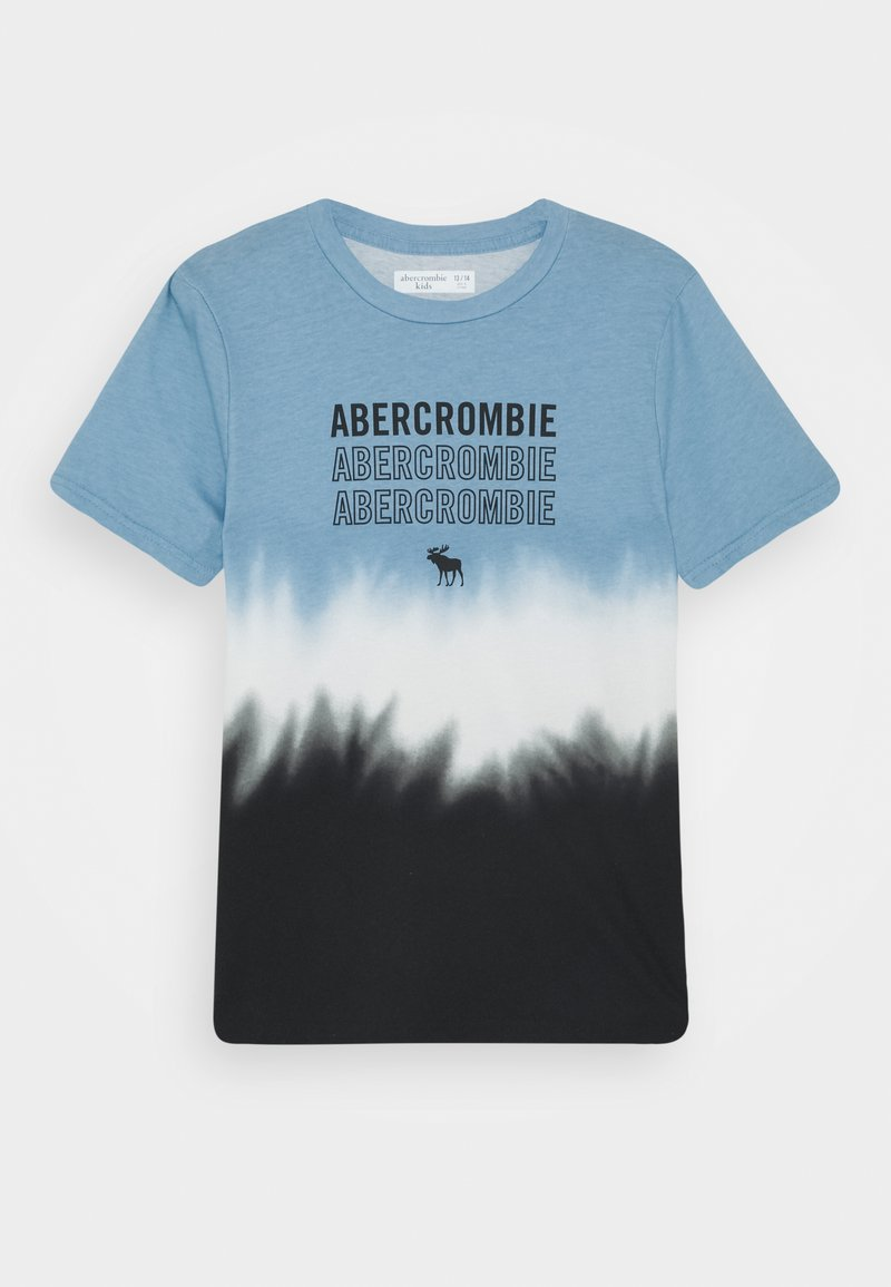 Abercrombie & Fitch - LOGO - Print T-shirt - blue