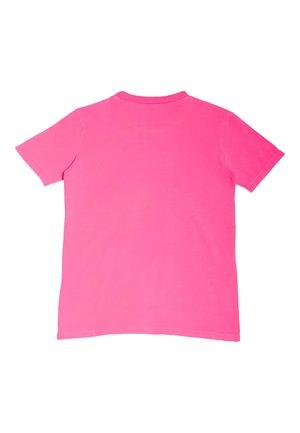 LOGO FLUO-FÄRBUNG - T-shirt basic - leuchtrosa