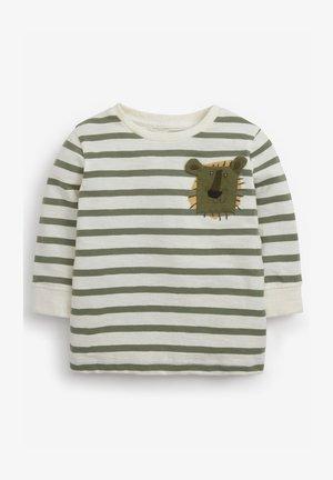 POCKET LONG SLEEVE  - Camiseta de manga larga - green