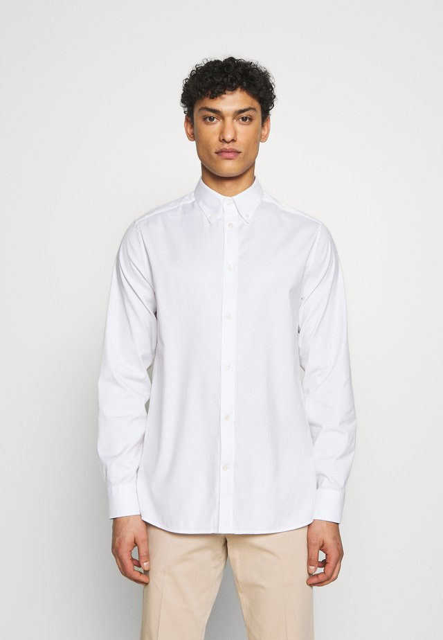 DANIEL BD-STRETCH OXFORD - Camicia - white