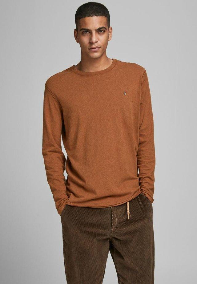 T-shirt à manches longues - leather brown