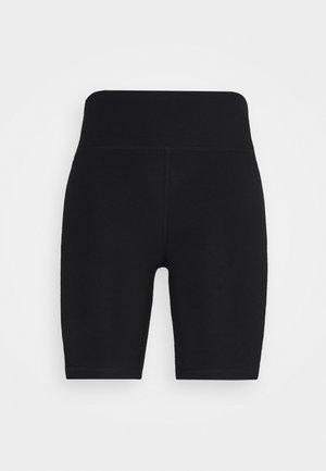 LOGO TAPE HIGH WAIST BIKE SHORT - Legging - black