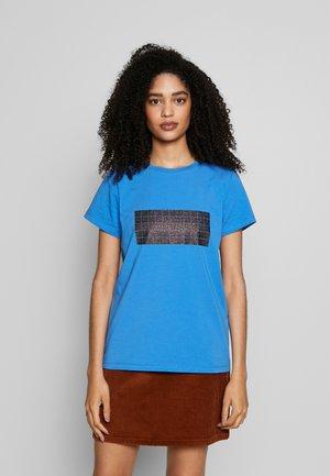 TEE - T-shirt imprimé - palace blue