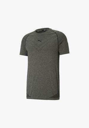 TRAIN TECH  - T-shirt basic - black