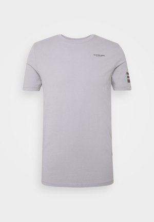 TEXT SLIM - T-shirt print - steel grey