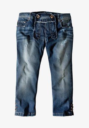 Straight leg jeans - flintstone