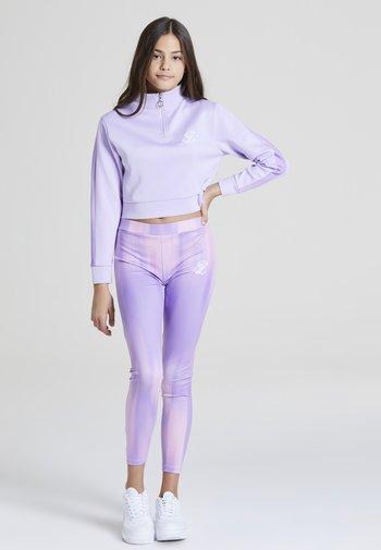 Felpa in pile - lavender