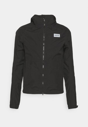 ENDURE JACKET MENS - Hardshell jacket - black