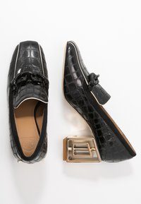 Tory Burch - JESSA RECTANGLE HARDWARE  - Klassieke pumps - perfect black - 3
