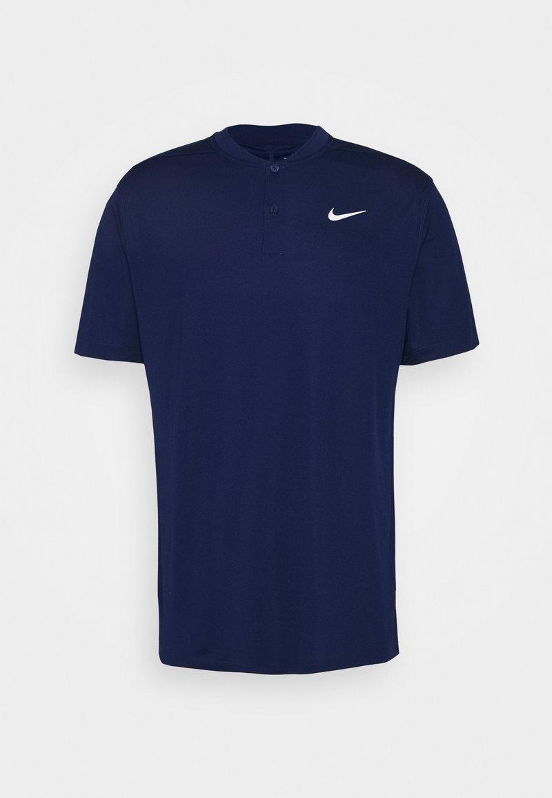 Nike Golf - DRY VICTORY - Funkční triko - blue void/white