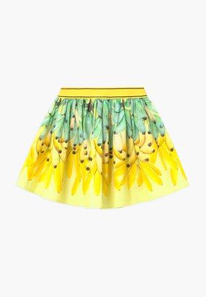 BRENDA - Áčková sukně - yellow