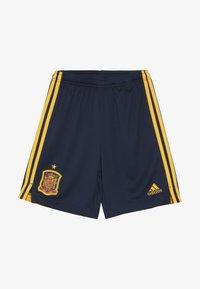 adidas Performance - SPAIN FEF HOME SHORTS - Sports shorts - collegiate navy - 3