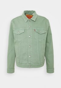 Levi's® - THE TRUCKER JACKET - Veste en jean - greens - 0