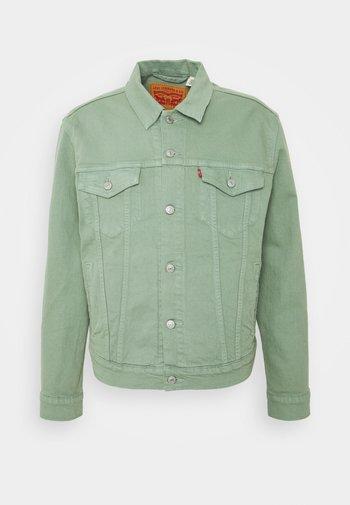 THE TRUCKER JACKET - Kurtka jeansowa - greens