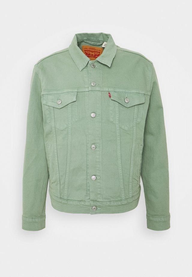 THE TRUCKER JACKET - Denim jacket - greens