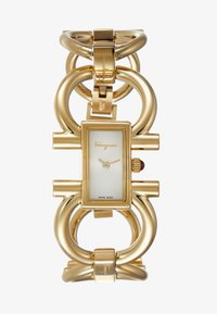 Salvatore Ferragamo - DOUBLE GANCINI WOMEN BRACELET - Watch - gold-coloured - 1