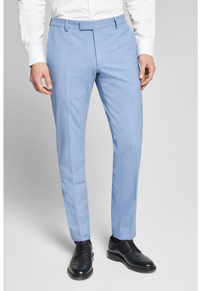 BLAYR - Suit trousers - hellblau meliert