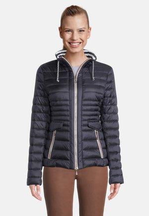 GIL BRET GEWATTEERDE JAS IMITATIEDONS - Winter jacket - donkerblauw
