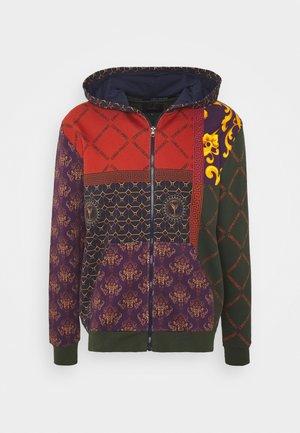 SWAT ZIP HOODIE - Zip-up hoodie - blue