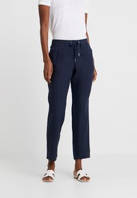 s.Oliver - HOSE - Trousers - navy - 0