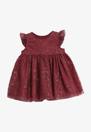 MICKEY X-MAS - Cocktail dress / Party dress - mickey burgundy