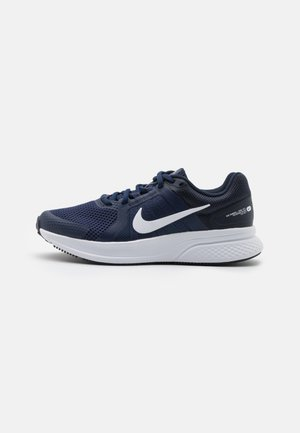 RUN SWIFT 2 - Zapatillas de running neutras - midnight navy/white/obsidian
