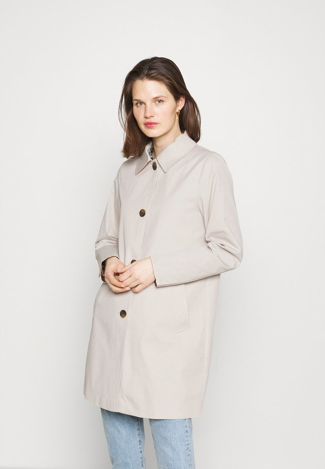 CAR COAT - Abrigo clásico - cream beige