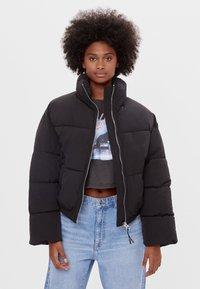 Bershka - Winter jacket - black - 0