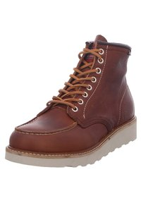 Snipe - Lace-up ankle boots - cuero - 2
