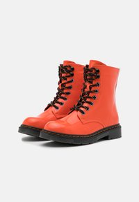 Dockers by Gerli - Lace-up ankle boots - orange - 2