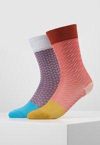 Hysteria by Happy Socks - LUCIA MID HIGH 2 PACK  - Socks - multi - 0