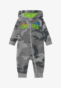 Converse - HOODED CAMO - Jumpsuit - grey heather - 2