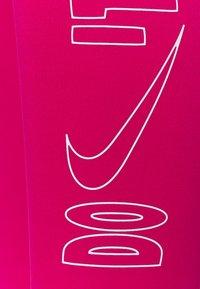 Nike Performance - ONE 7/8 - Medias - fireberry/white - 2
