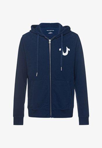 CLASSIC  - Zip-up sweatshirt - navy