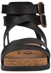 Blowfish Malibu - Platform sandals - black dyecut - 5