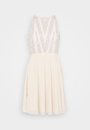 ADDISON SKATER - Cocktail dress / Party dress - beige