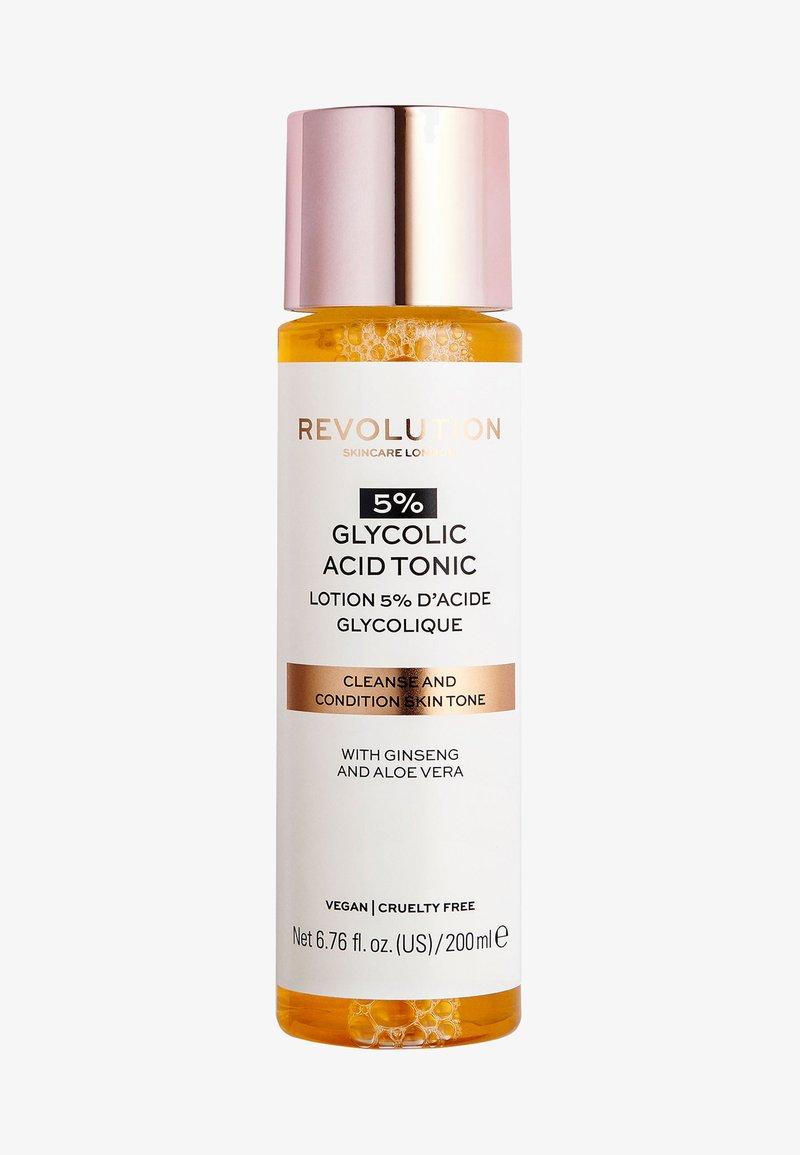 Revolution Skincare - 5% GLYCOLIC ACID TONER - Gesichtswasser - -