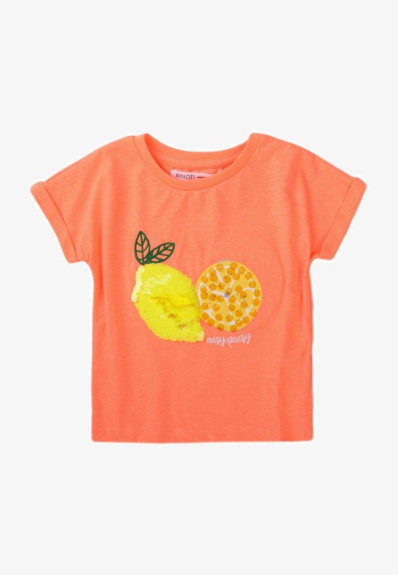 MINOTI - T-shirt print - orange