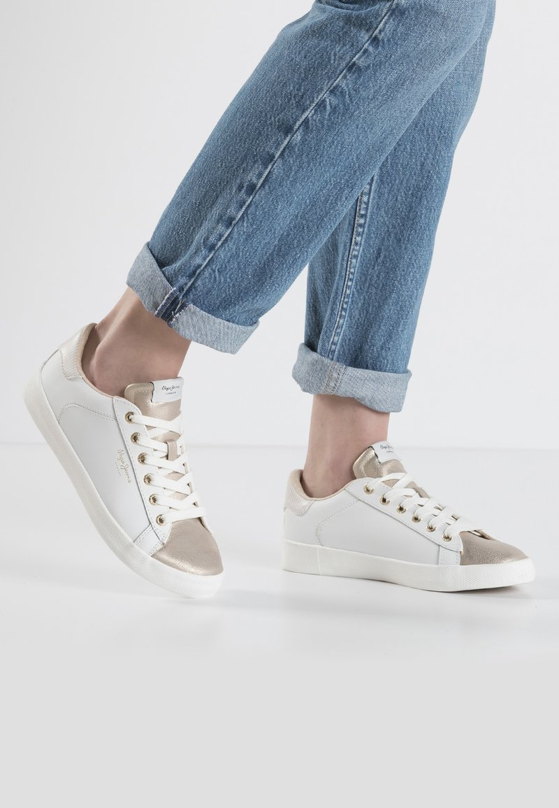 Pepe Jeans - KIOTO ONE - Sneakers basse - gold/white