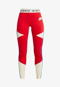 Nike Sportswear - Leggings - Trousers - university red/white - 4